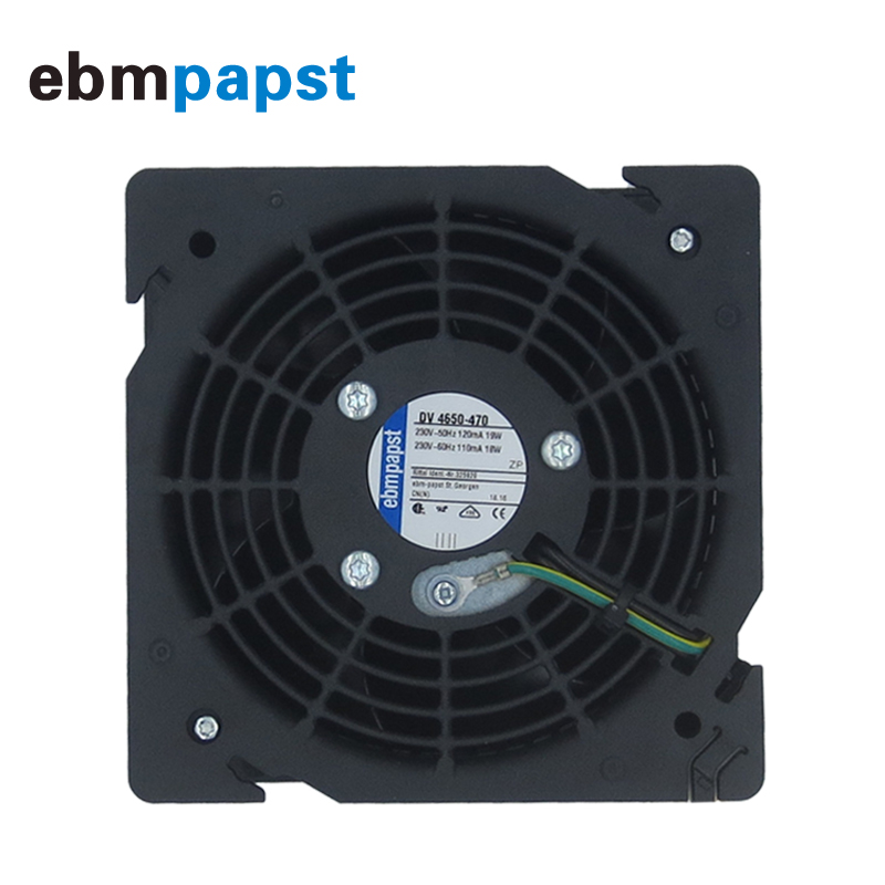 New Ebmpapst DV4650-470 230V-50HZ 120MA 19W Cooling Fan 120*120*38mm Axial Fan