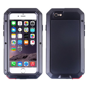 Heavy Duty Doom Armor Waterproof Phone Case For iPhone 11 12 Pro X XR 6 6S 7 8Plus 5S SE XS MAX 360 Full Shockproof Metal Cover