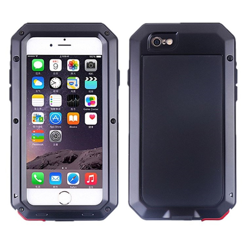 Heavy Duty Metal Aluminum Doom Armor Waterproof Case For