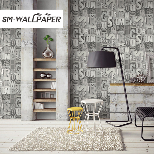 Washable And Removable Deep Embossing Vinyl Wallpaper 3d