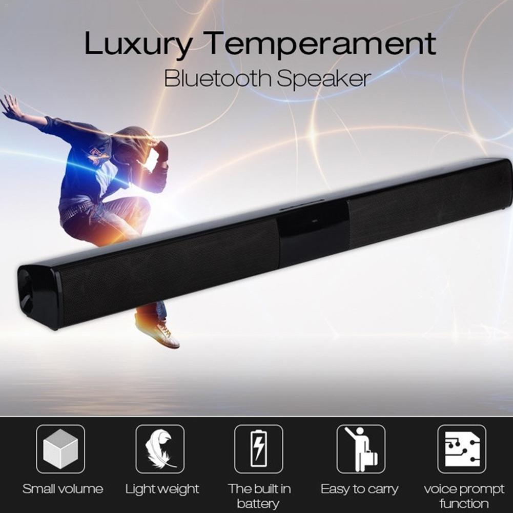 NEW Upgraded deluxe version Bluetooth Speaker Sound Bar 3D stereo surround sound Music TV Computer Support 3.5mm TF USB U disk