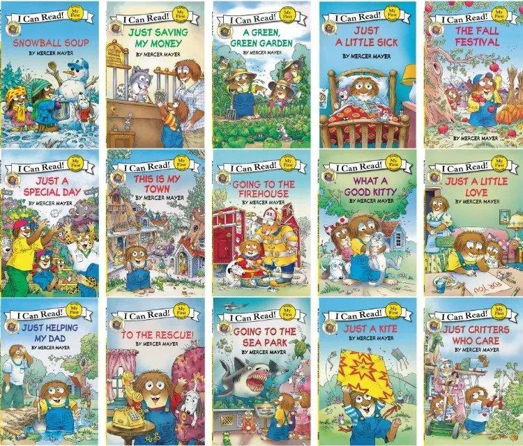 15 livres + CD je peux lire petite bestiole anglais image livre d'histoire pour enfants éducation apprentissage jouets Parent-enfant lecture livre cadeau - 4