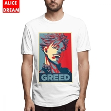Ban Greed Seven Deadly Sins Hope T Shirt Boy Good Short Sleeve Round Collar S-6XL Big Size T-shirt Summer Breathable цена