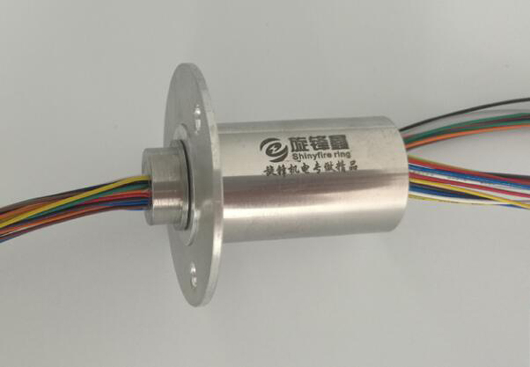 Out Dia. 25mm Stainless Steel Metal Slip Ring 240V DC/AC 5A Large Current Electric Collection Slip Rings 12/24/30/36 Channels