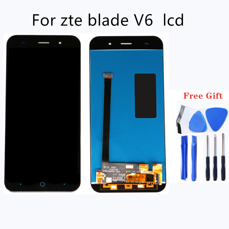 Suitable for <font><b>ZTE</b></font> V6 X7 Z7 D6 V6 L6 <font><b>T660</b></font> T663 assembled LCD mobile phone LCD screen mobile phone accessories 100% test work image