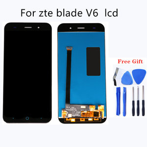 Image 1 - 適切な zte V6 組み立て液晶画面のタブレットのタッチスクリーン携帯電話の液晶ディスプレイ携帯電話アクセサリー 100% のテスト作業