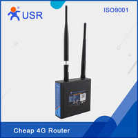 Industrial 3G 4G LTE Wireless Routers Network Device with WAN LAN Port SIM Card Slot Support APN VPN PPPOE DHCP USR-G806 Q097