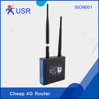 Industrielle 3g 4g LTE Wireless Router Netzwerk Gerät mit WAN LAN Port SIM Karte Slot Unterstützung APN VPN PPPOE DHCP USR-G806 Q097