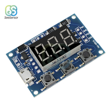 Micro USB 2 Channel Adjustable PWM Signal Generator Duty Cycle Pulse Frequency Module Dual Way Digital LED Display DC 5V 12V 24V