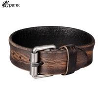 Red Black Wristband Rock Bracelet For Men Women 2015 Fashion Jewelry New High Quality Leather Bracelet