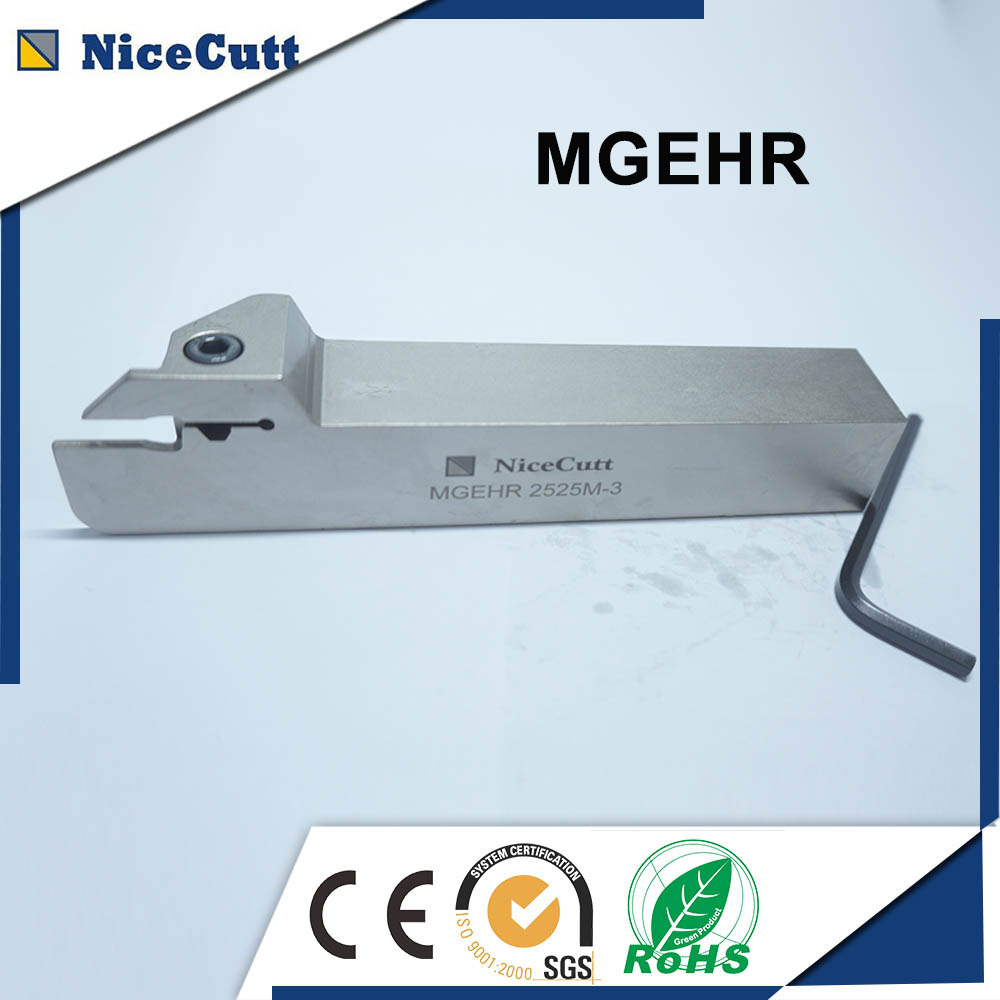 Lathe Machine Tool Holder MGEHR Slot Cutter Lathe Knives Solid Carbide Tool Holders MGEHR 2020 K-2 mgehr 1010 1 5 10 10 100mm external grooving lathe cutting tool holder