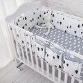 Дерево Комплект Постельных Принадлежностей, Multi-functional Baby Safe Спальный Детская Кроватка Бамперы Набор