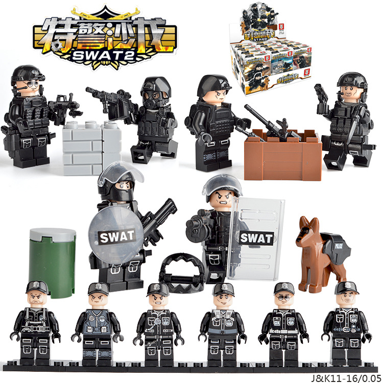 Collection Here 635027 Special Force Military Soldiers Ww2 Navy Seals Army Action Figure Model Building Blocks Brick Toys For Kids Boy Children New Varieties Are Introduced One After Another Blocks