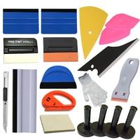 21Pcs Car Vinyl Wrap Scraper Tool Window Tint Kit for Car Wrap Film Application