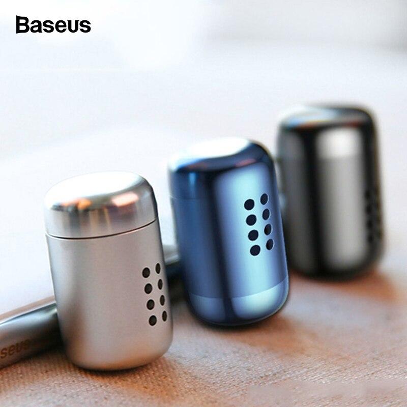 Baseus Mini Aromatherapie Auto Telefon Halter Lufterfrischer Duft Für Auto Air Vent Diffusor Luftreiniger Solide Parfüm Lufterfrischer