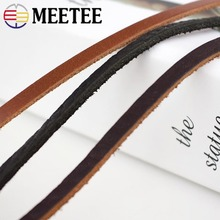 Meetee 5pcs(1pc=1meter) 4mm  for DIY Craft Accessories Jewelry Necklace Ethnic Meterial Rope AP491