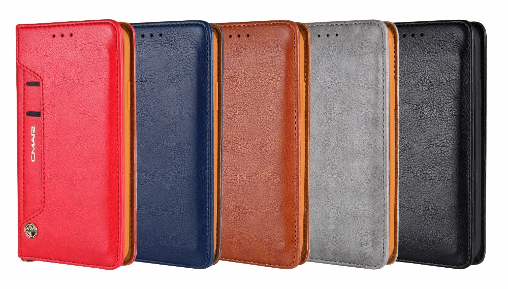iPhone X Wallet Card Holder Leather Case