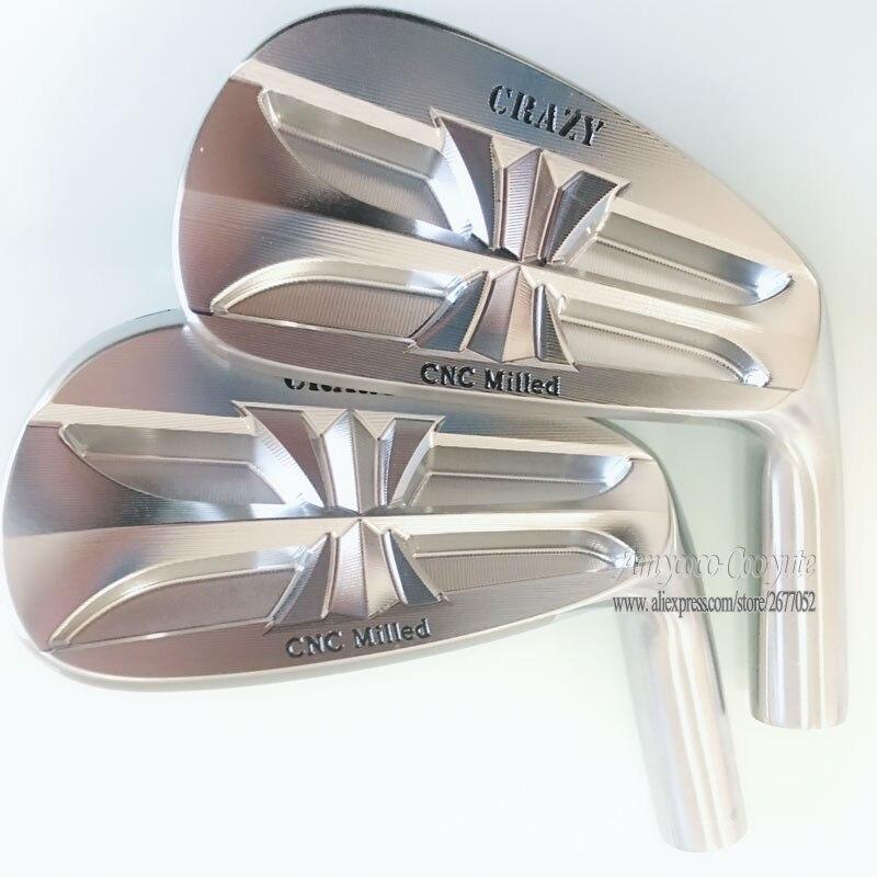 Nouvelle tête de Golf pour hommes CNC fou fers de Golf en fer doux fraisés jeu de tête 3-9 P fers de Golf Clubs tête pas de club arbre livraison gratuite