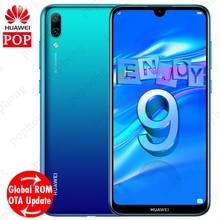 Global ROM Huawei ENJOY 9 Huawei Y7 Pro 2019 โทรศัพท์มือถือ 6.26 นิ้ว Snapdragon 450 OCTA Core Face ปลดล็อก 4000mAh Android 8.1