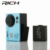 Q3H Action Camera 1080P 4K Wifi 12MP 170 Wide Angle Lens Sports DV with Waterproof Case Video Camcorder