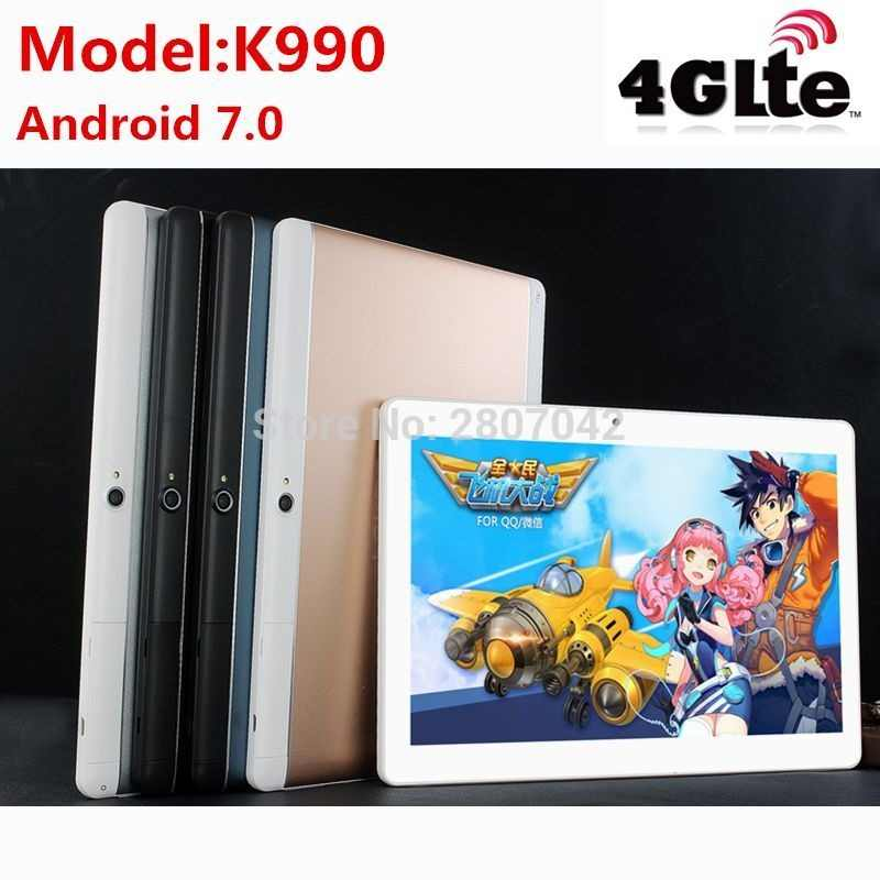 Free Shipping 2019 Newest MTK8752 Octa Core 3G 4G Phone Call 10 inch Tablet PC 4GB RAM 32GB ROM 8.0MP Bluetooth GPS Phablet