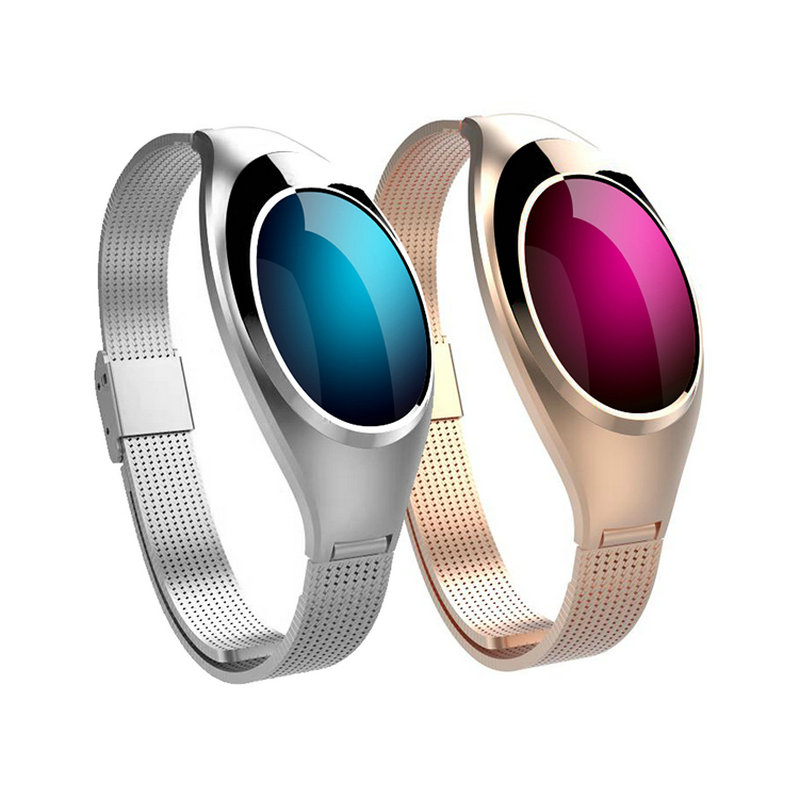 Z18 Red White Black Women Sport Bluetooth Smart Bracelet Fitness Pulsometer Heart Rate Monitor Smartband On Wrist ZIMINGU 17 4