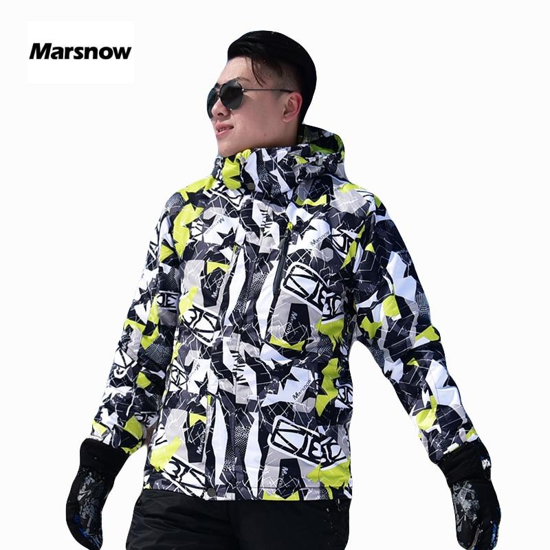 Russian -30 Marsnow Men Ski Jackets Winter Waterproof Thermal Outdoor Hiking Snowboarding Men's Skiing Warm Snowboard Jackets