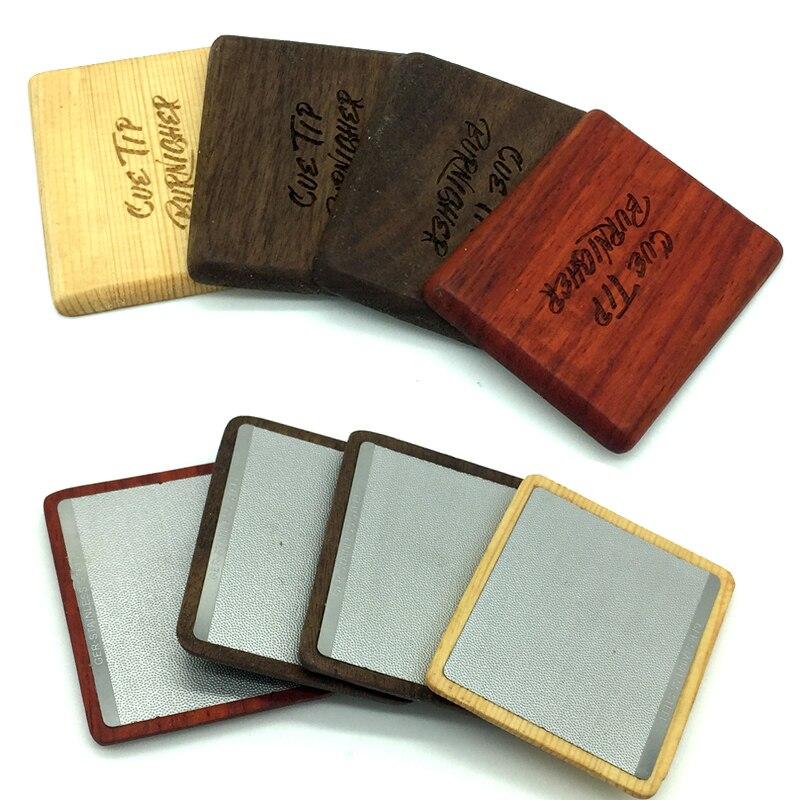 Бесплатная доставка 4 цвета деревянный бильярдный кий наконечник Сандерс кончик