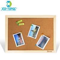 XINDI tableau de liège 25*35cm tableau d'affichage tableaux d'affichage en bois cadre broche mémo pour Notes fournitures d'usine bureau à domicile décoratif