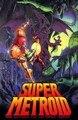 Hot Super Metroid juego Poster impresión en seda del arte de la pared juegos Posters 12 X 18 24 X 36 pulgadas