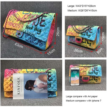 Colorful Rainbow Clutches 4