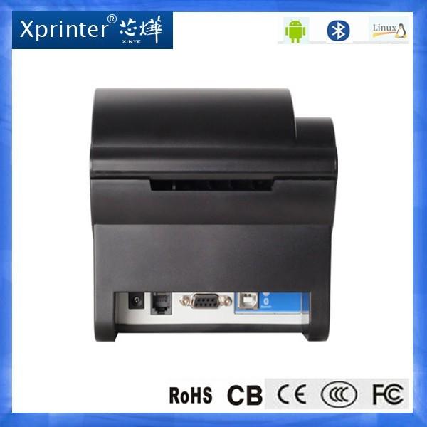 Nuevo llega la alta calidad Xprinter XP-235B impresora de código de barras etiqueta de la impresora impresora de código Qr etiqueta adherente