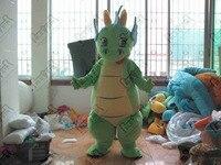 Стильная футболка с изображением персонажей видеоигр улыбка зеленый дракон маскарадный костюм Детские Дракон ходьба актер динозавров Мас