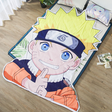 1pcs NARUTO Summer Cool blanket air conditioning comforter children Adult Anime Uzumaki Naruto in summer throw