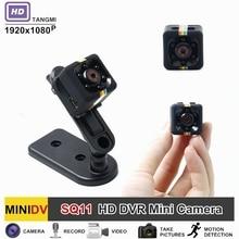 TANGMI SQ11 HD 1080P DV Mini Camera Night Vision With Motion Sensor Micro DVR Camcorder Portable Audio Video Mini Cam SQ8 SQ9