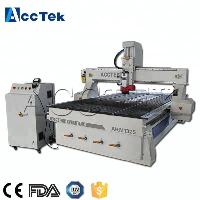 DSP contrôleur 1300*2500mm 3d CNC gravure sur bois routeur utilisé CNC routeur gravure sur bois machine