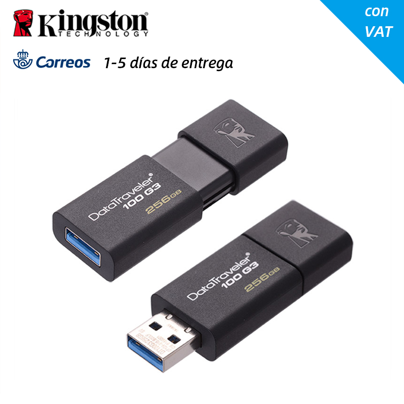 Original High Speed DataTraveler USB 3.0 Kingston USB Flash Drive 32GB 64GB 128GB 32 64 128 GB Pen Drive Stick Pendrive DT100G3