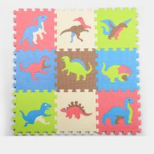 Hot sale New Baby game pad Dinosour Puzzle Foam Floor Play Mats Toy For Children Kids Maths Educational Toy Gift(China)
