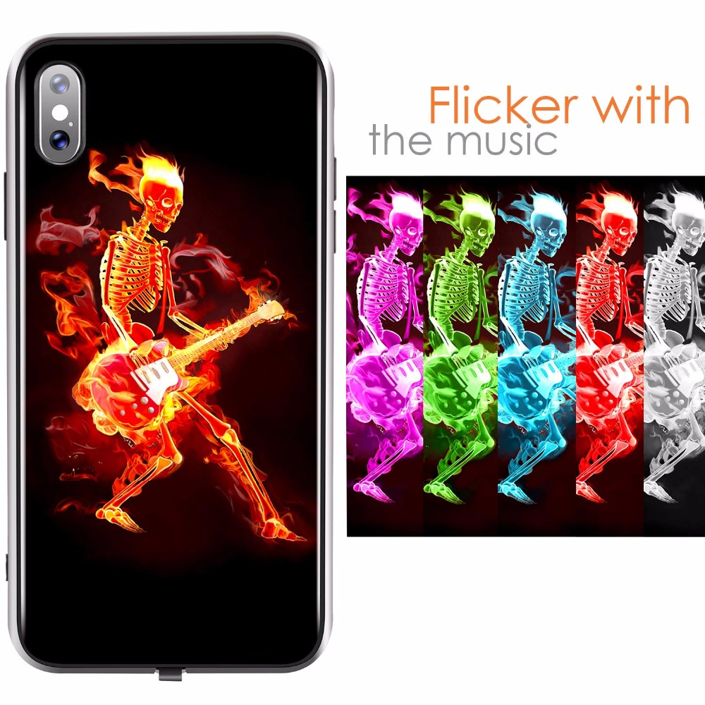 iphone xs max light up case