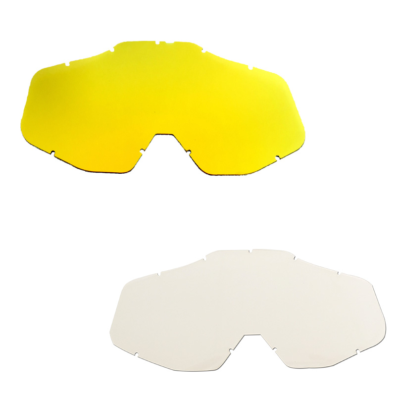 Motorcycle motocross goggle lens&tear off films fitting for the Racecraft YH05,YH06,YH10