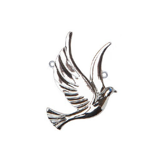 US $9 38 25% OFF|Metal Alloy Antique Silver Plated Peace Dove Charm Zeta  Phi Beta Sorority Pendant Accessory For Bracelet Necklaces Making-in Charms