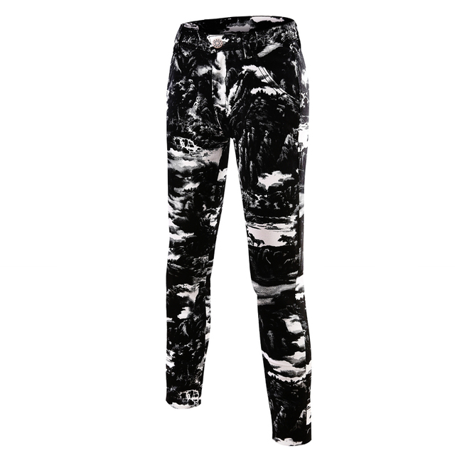 outside fitness joggers homme 2016 new Mens Casual pants hip hop trousers fashion Camouflage printed skinny pencil pants