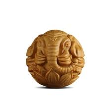 Handmade Carved Wood Elephant Gift Decorative Arts