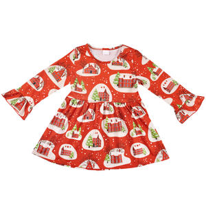 conice nini baby clothes cotton toddler girls kids dress - Cheap Christmas Dresses