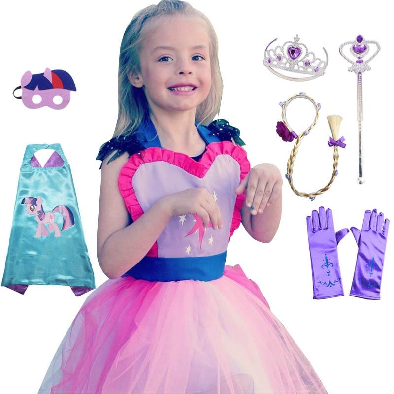 Caritatevole Costume Per I Bambini Mlp Costume Tutu Grembiule Per Le Ragazze Divertimento Per Occasioni Speciali Di Compleanno Party Dress Up Halloween Sapore Aromatico