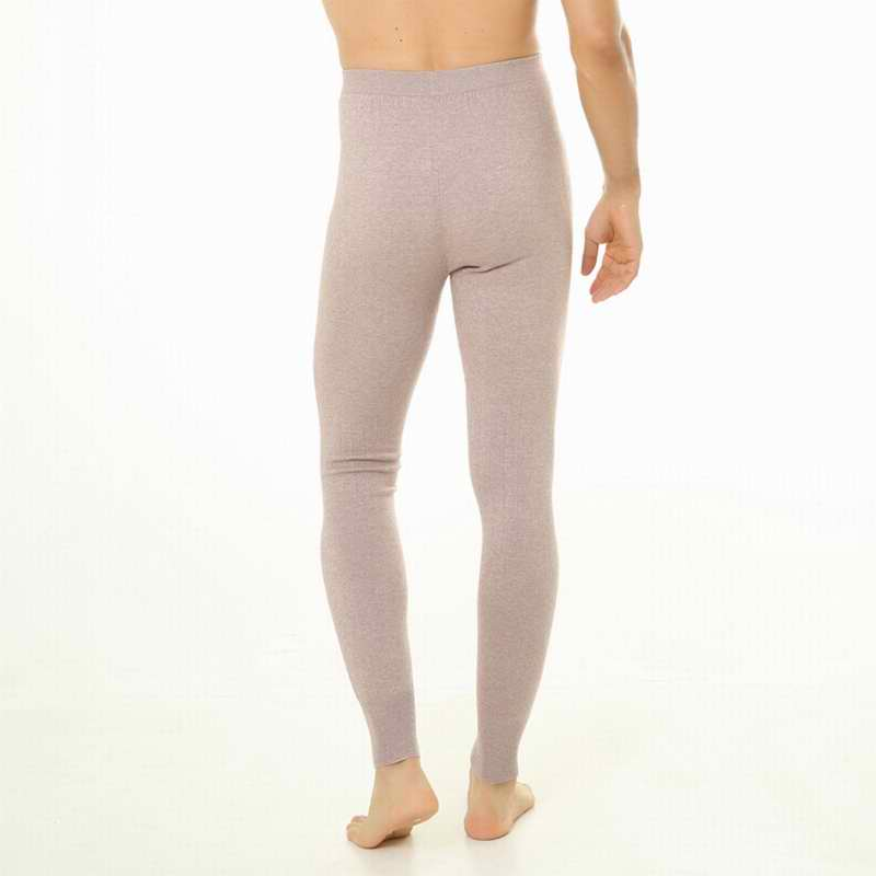 Hot Sales 2018 Mens Cashmere Pants Seamless High-elastic Warm Trousers Tights Leggings Warm Pants Free shipping