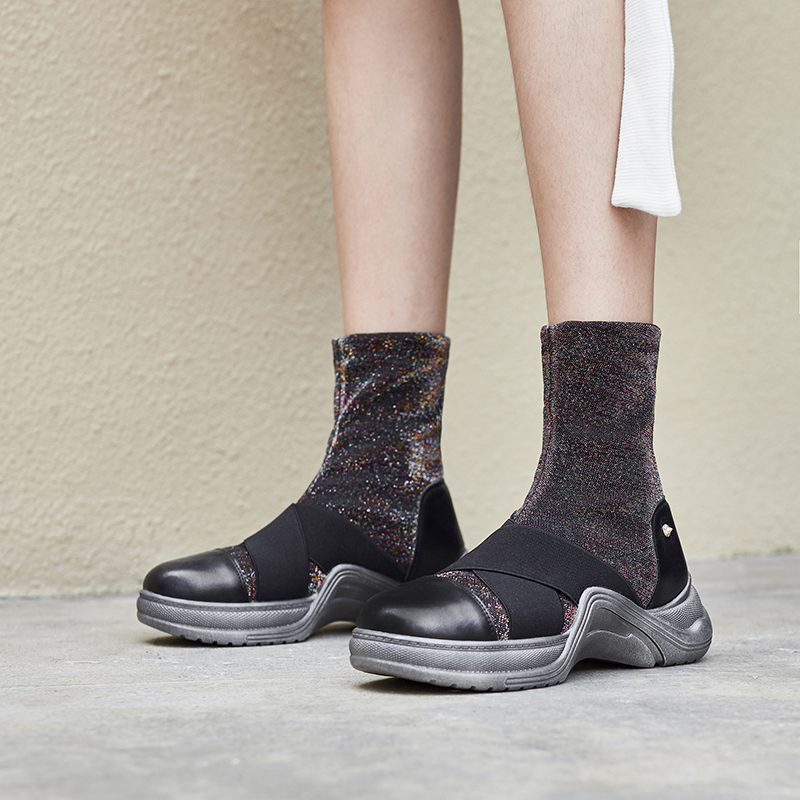 Casidueho Winter Women Short Boots Flats Dress Shoes Woman Big Size Slim Cross Tied Motorcycle Booties 2018 New Chelsea boots 2017 brand new women short designer boots flat dress shoes woman gladiator big size cool rain booties outwear casual shoes