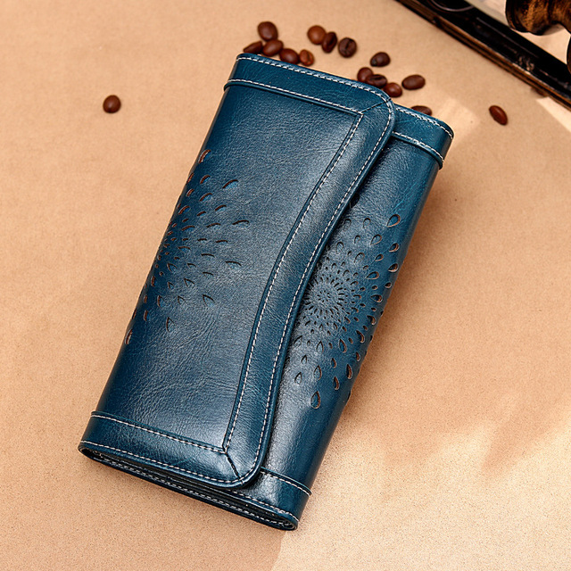 Genuine Leather Wallet Mawgie