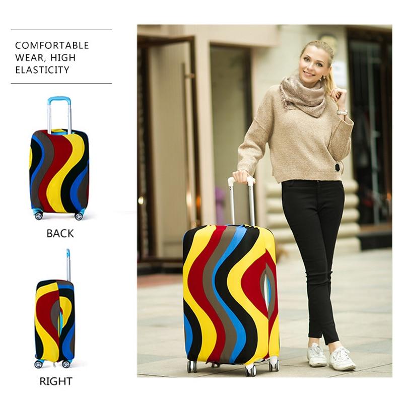 Reisegepäck koffer schutzhülle elastische koffer staubschutz box sets reisezubehör gelten für 18 bis 30 zoll fällen