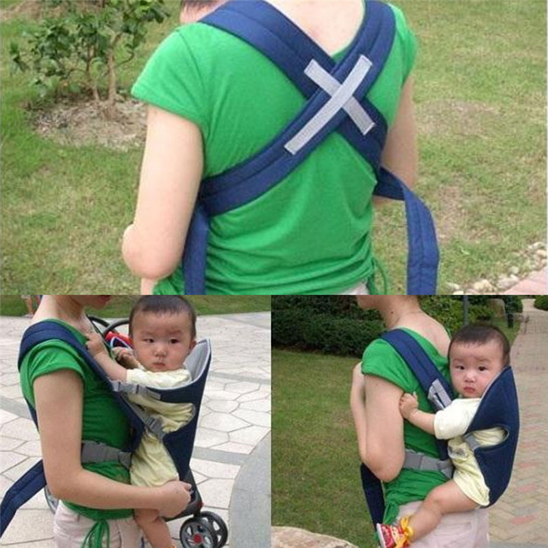 Baby Sling Breathable 3D Mesh Baby Carrier Back Front Carring for Toddler Wrap Soft Baby Backpack
